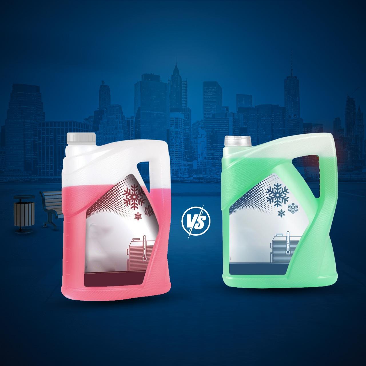 الأحمر أم الأخضر أيهما أفضل .. تعرف على أنواع مياه الردياتير ... ؟؟