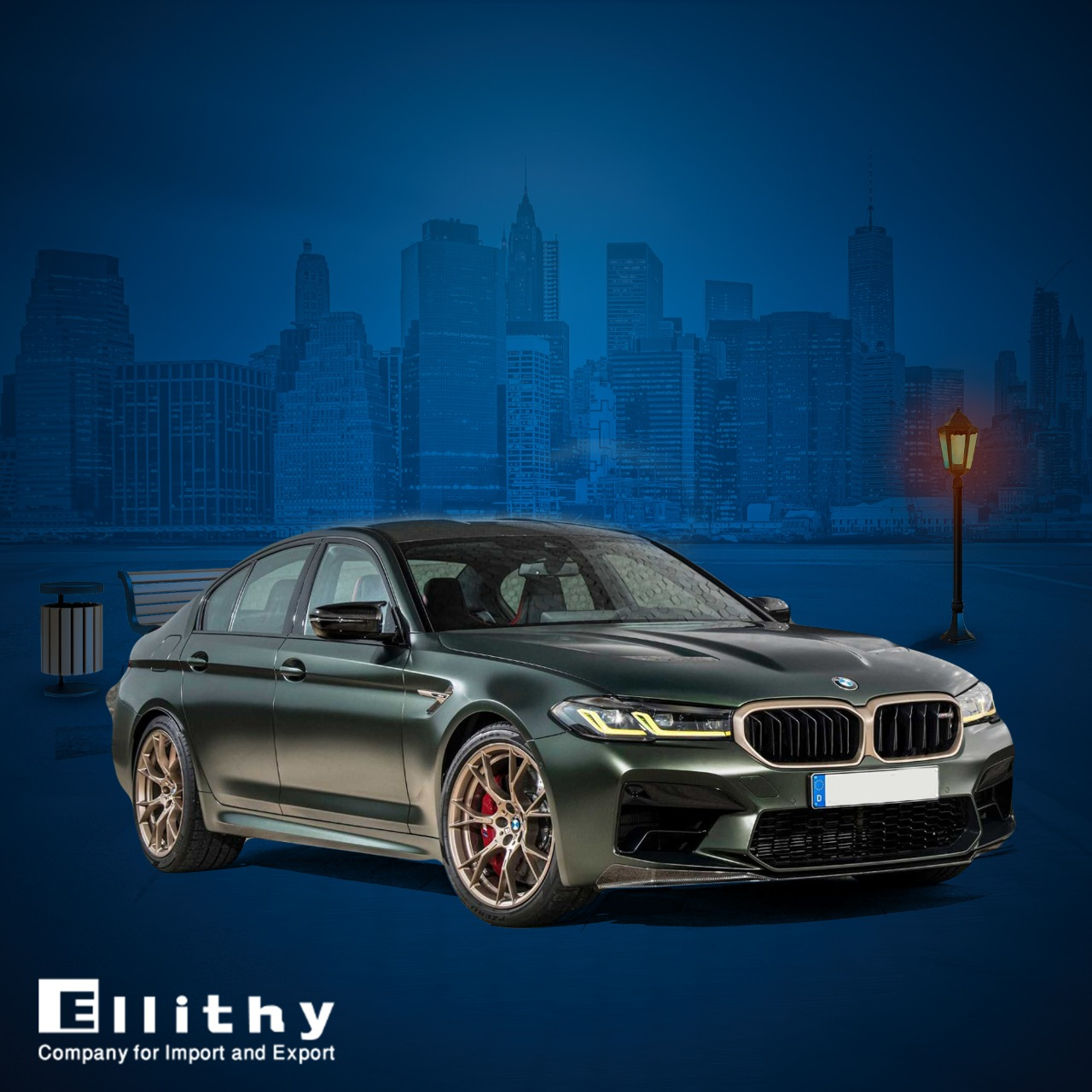 BMW M5 CS 2022 الجديدة كليا